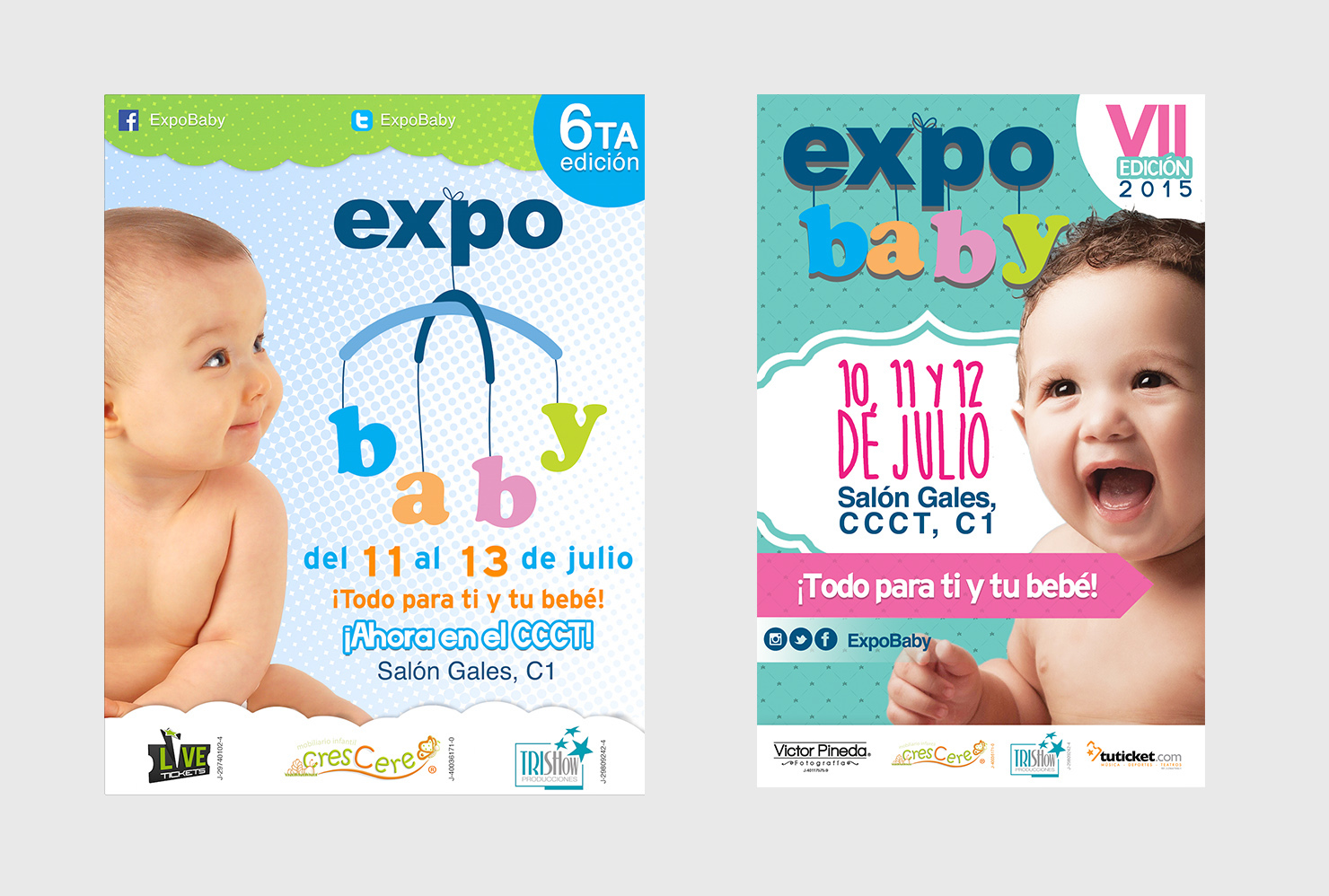 Expo baby flyers