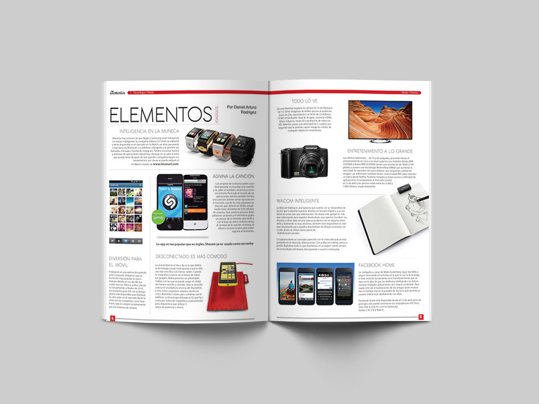 Kakao magazine design