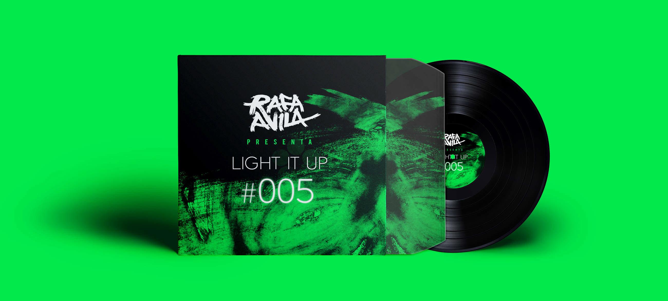 Rafa Avila CD Cover design