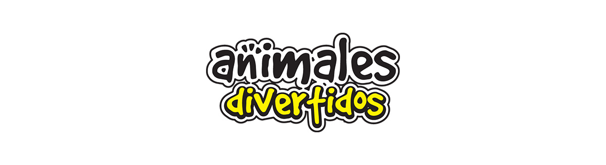 Animales divertidos logo