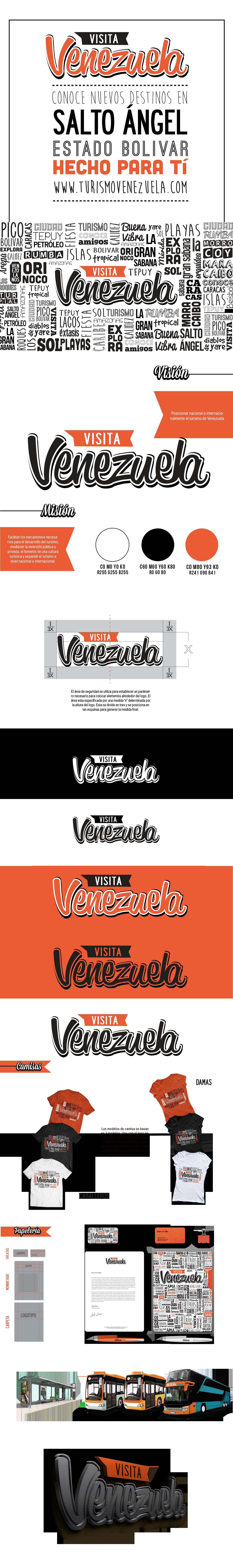 Venezuela branding design