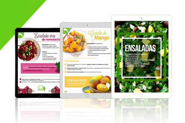 Vive Verde E-book design