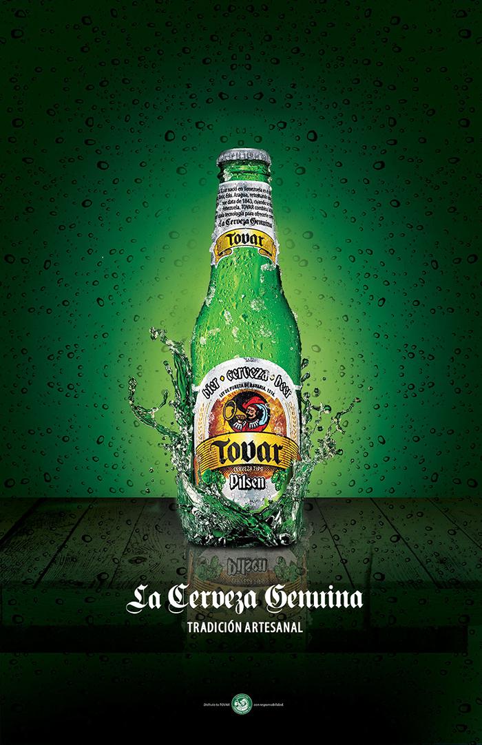 Tovar beer poster design