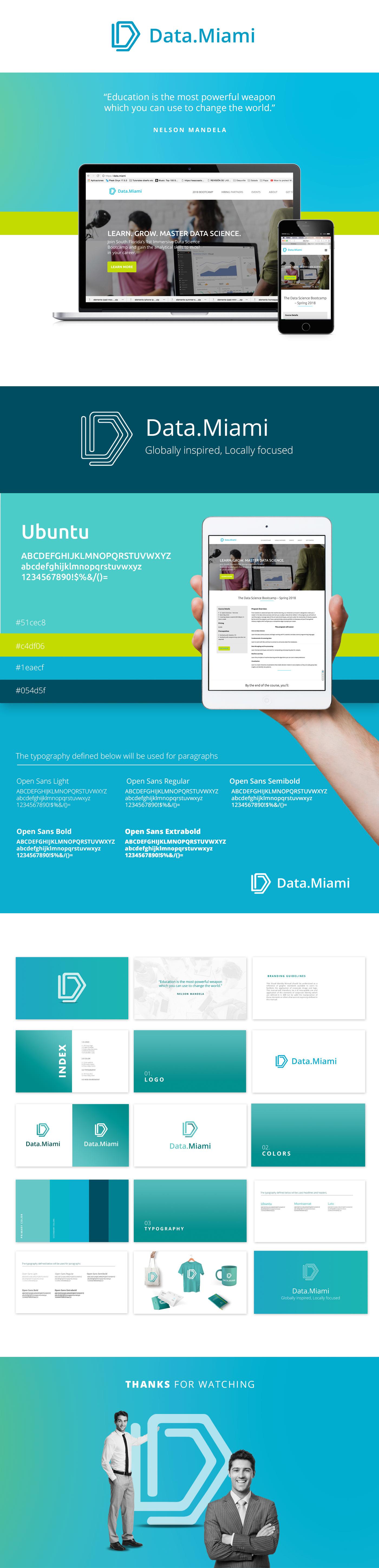 Data.Miami branding