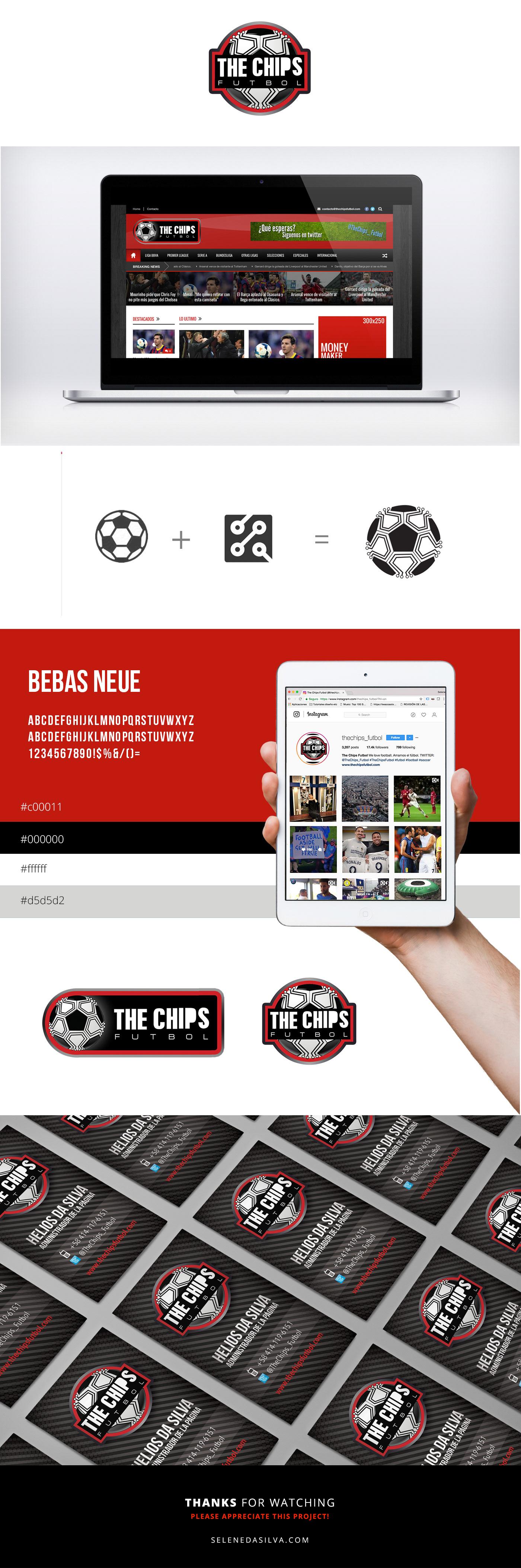 The chips branding