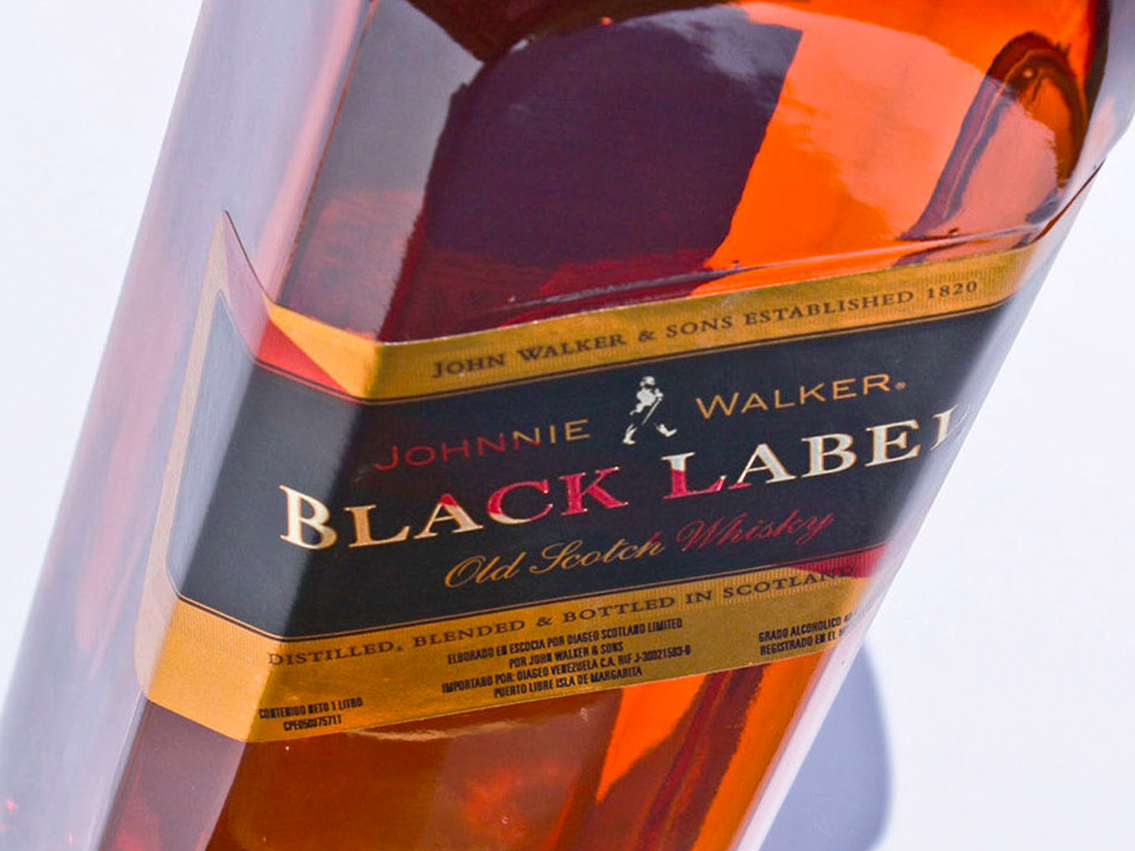 Black Label product Photography