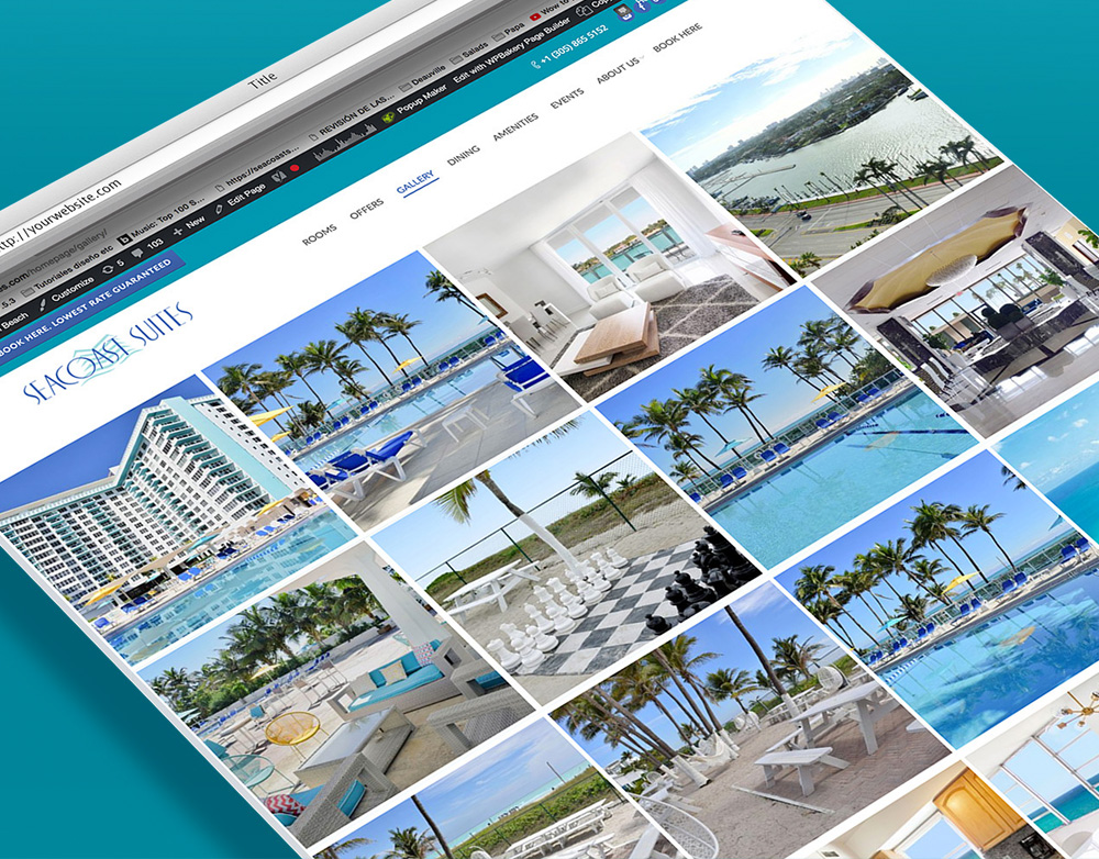 Seacoast Suites website
