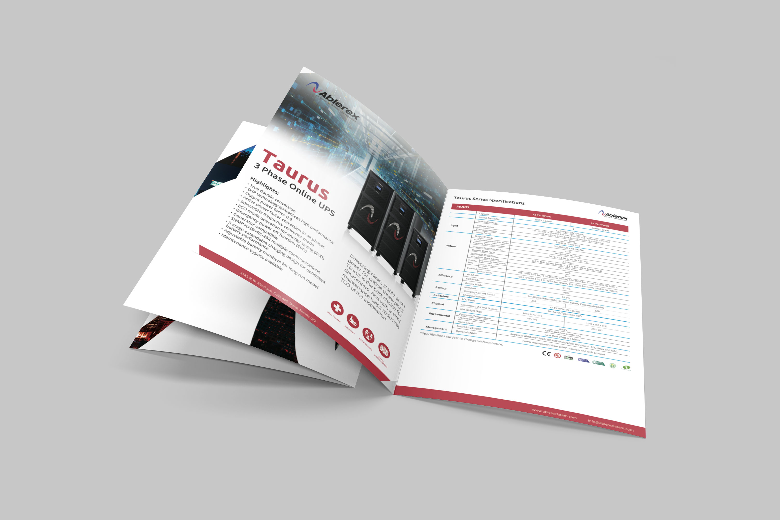Ablerex catalog design