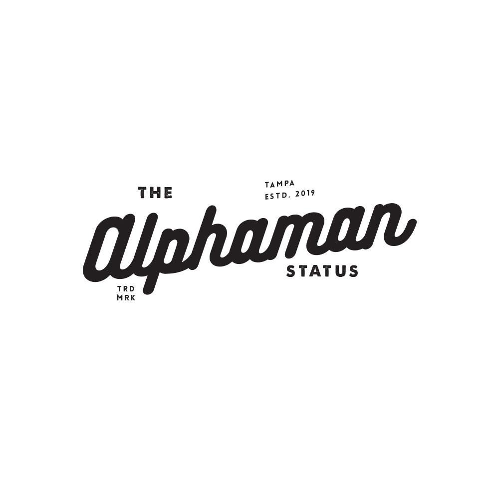 Alphaman logo