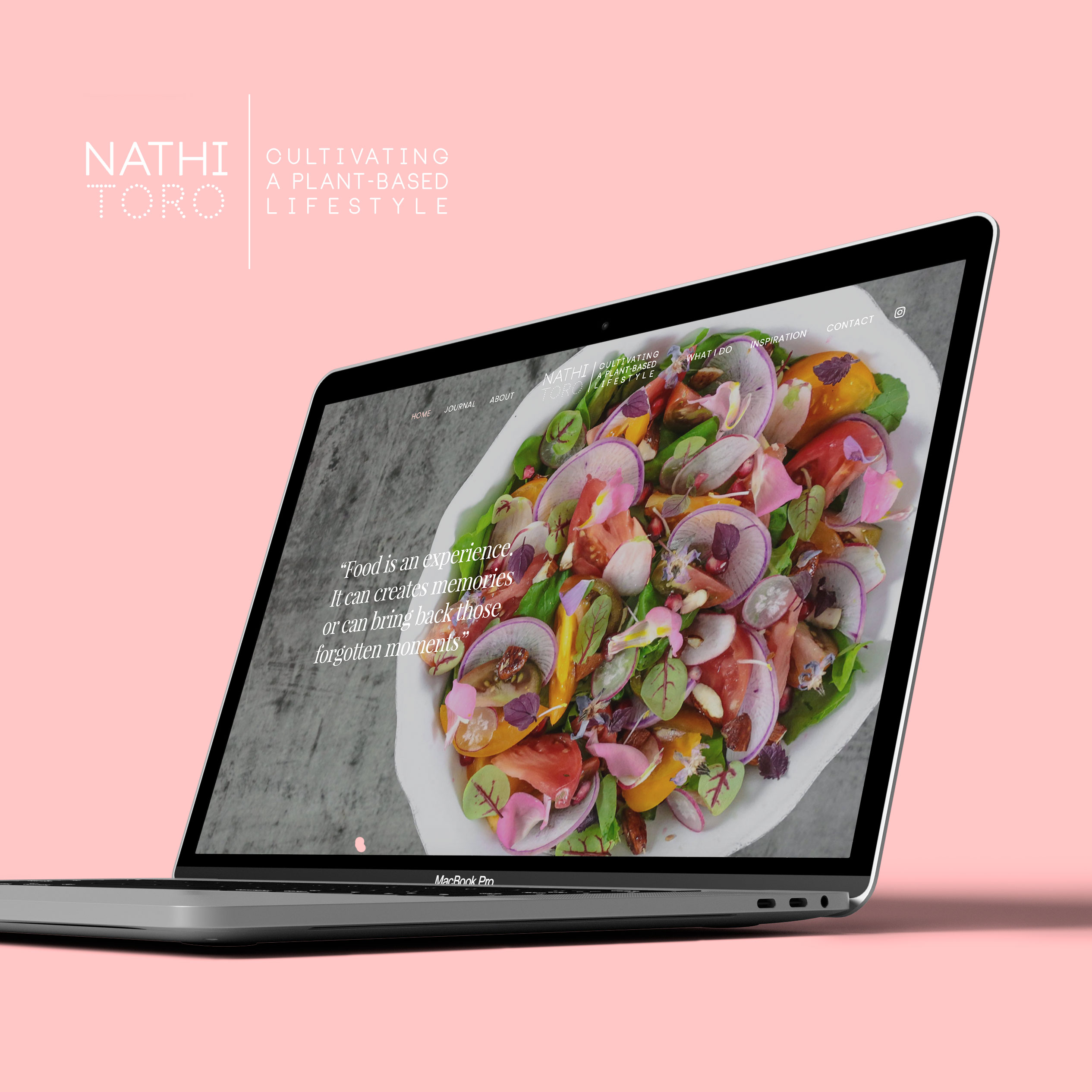 Nathi Todo website design