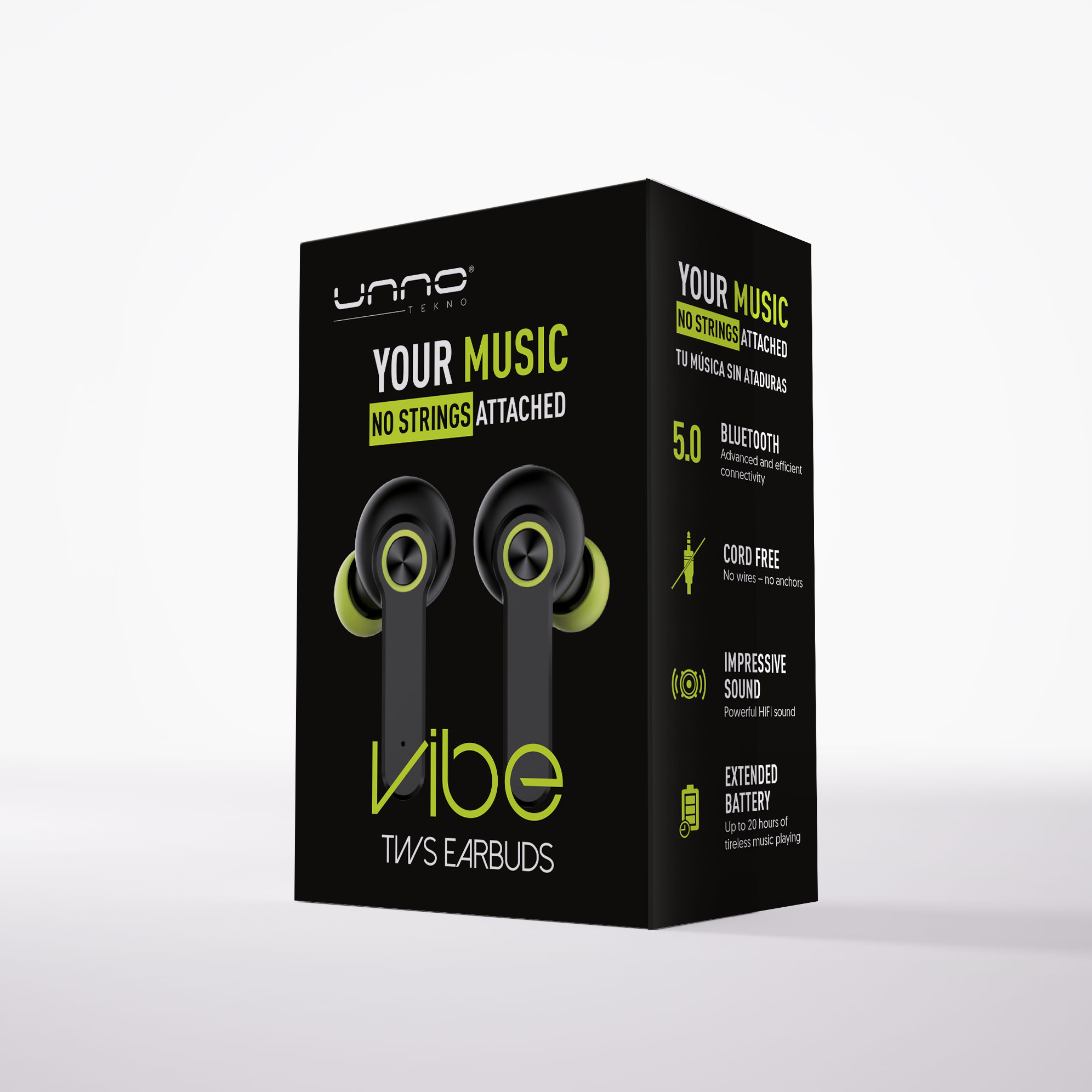 Vibe photography and package design