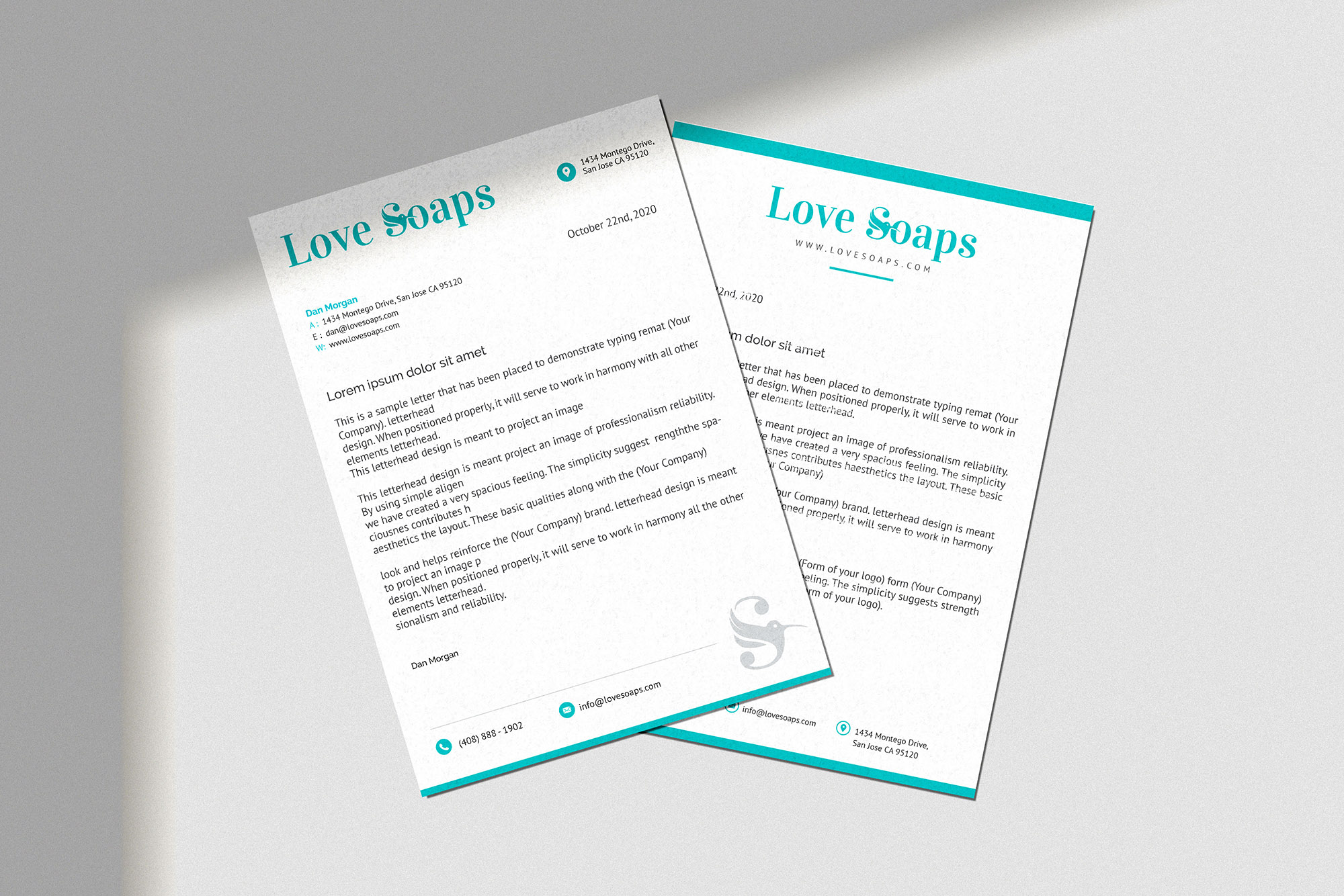 Love Soaps Stationery